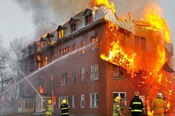 incendio residencial formas de percibir
